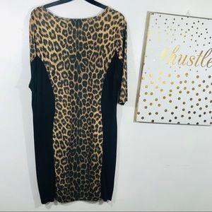 ASOS Dresses - ASOS Club L Leopard Print Bodycon